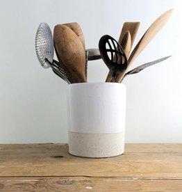 Atelier Trema Pot à ustensiles Atelier Trema Blanc