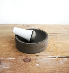 Atelier Trema Mortier et pilon Atelier Trema Gris