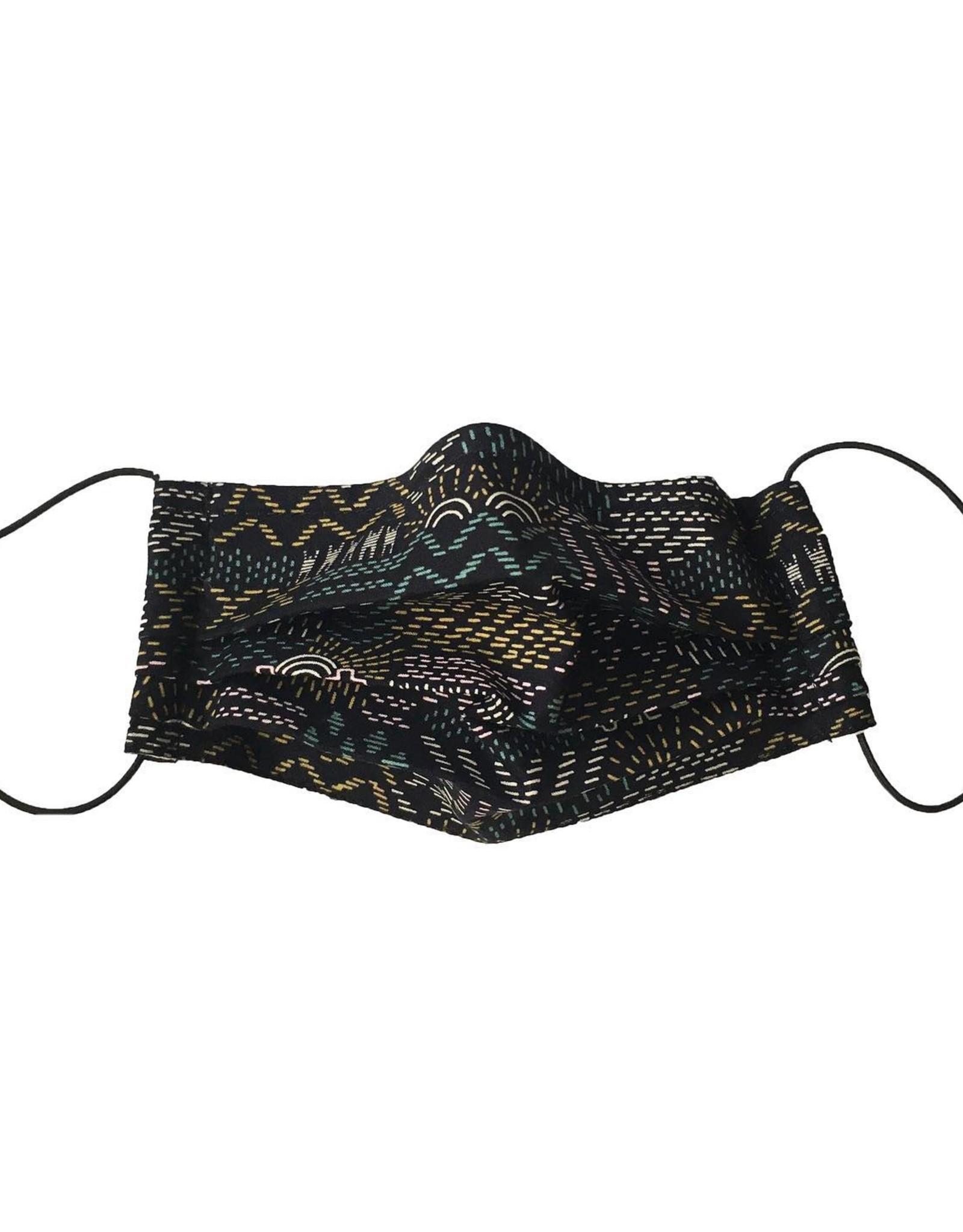 Kazak Masque en tissu Kazak Broderies