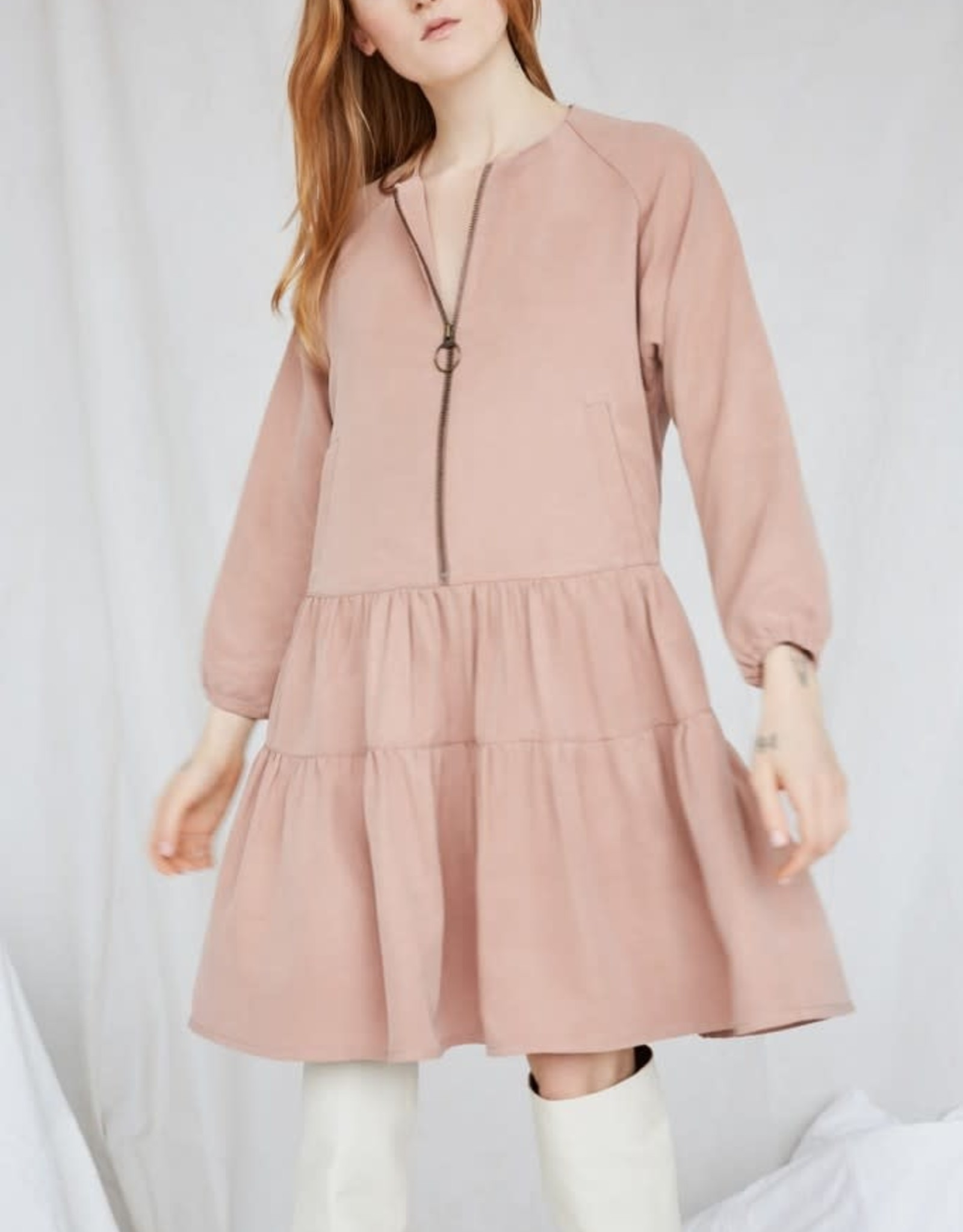 Eve Gravel Robe Primrose AH2021 Ève Gravel Rust