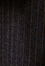 Meemoza Pantalon Warhol AH2021 Meemoza Laine rayée Marine