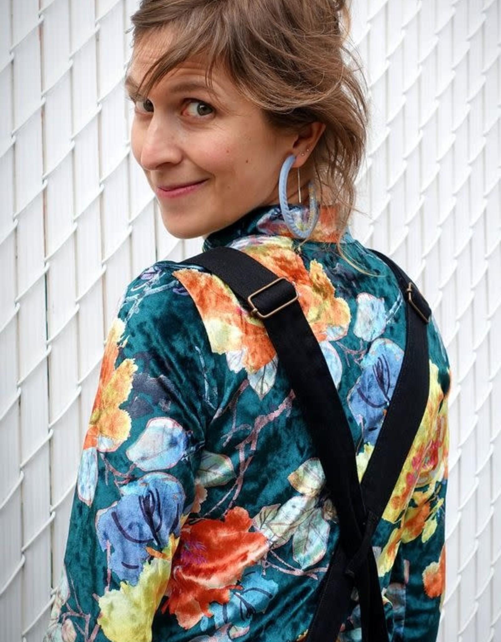 Les Coureurs de Jupons Col Roulé Long AH1920 Les Coureurs de Jupons Kimono Velvet