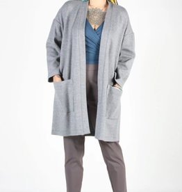 Birds of North America Cardigan Antriade AH2021 Birds of North America Grey