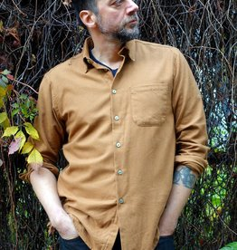 Naked and Famous Easy shirt AH2021 Naked & Famous Soft Twill Dijon