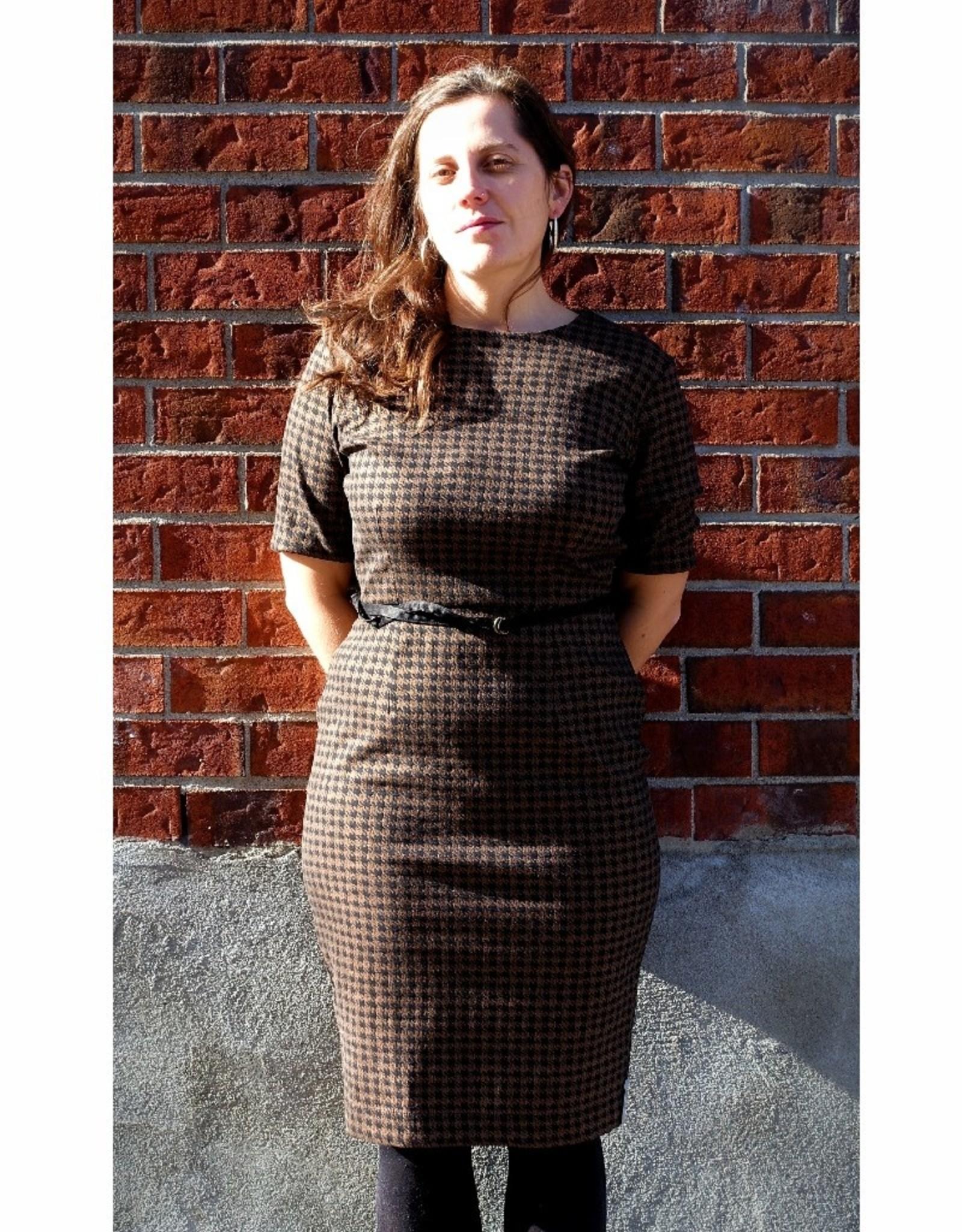 Melow Robe ajustée Brooklyn AH2021 Melow Toffee