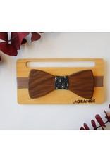 Atelier Lagrange Noeud papillon en bois Le Surfer Atelier La Grange