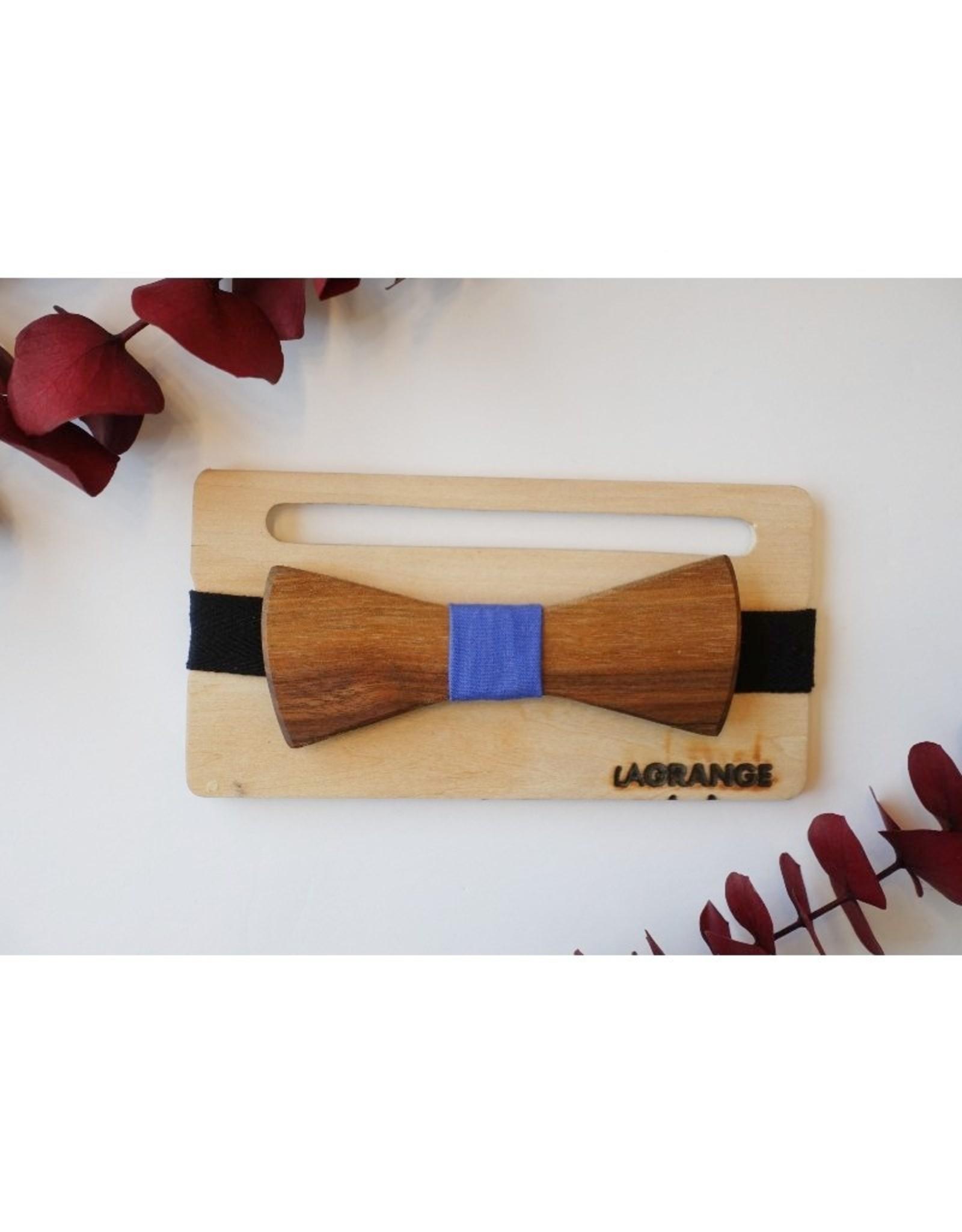 Atelier Lagrange Noeud papillon en bois Le Noble Atelier La Grange