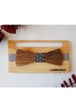 Atelier Lagrange Noeud papillon en bois Le Californien Atelier La Grange