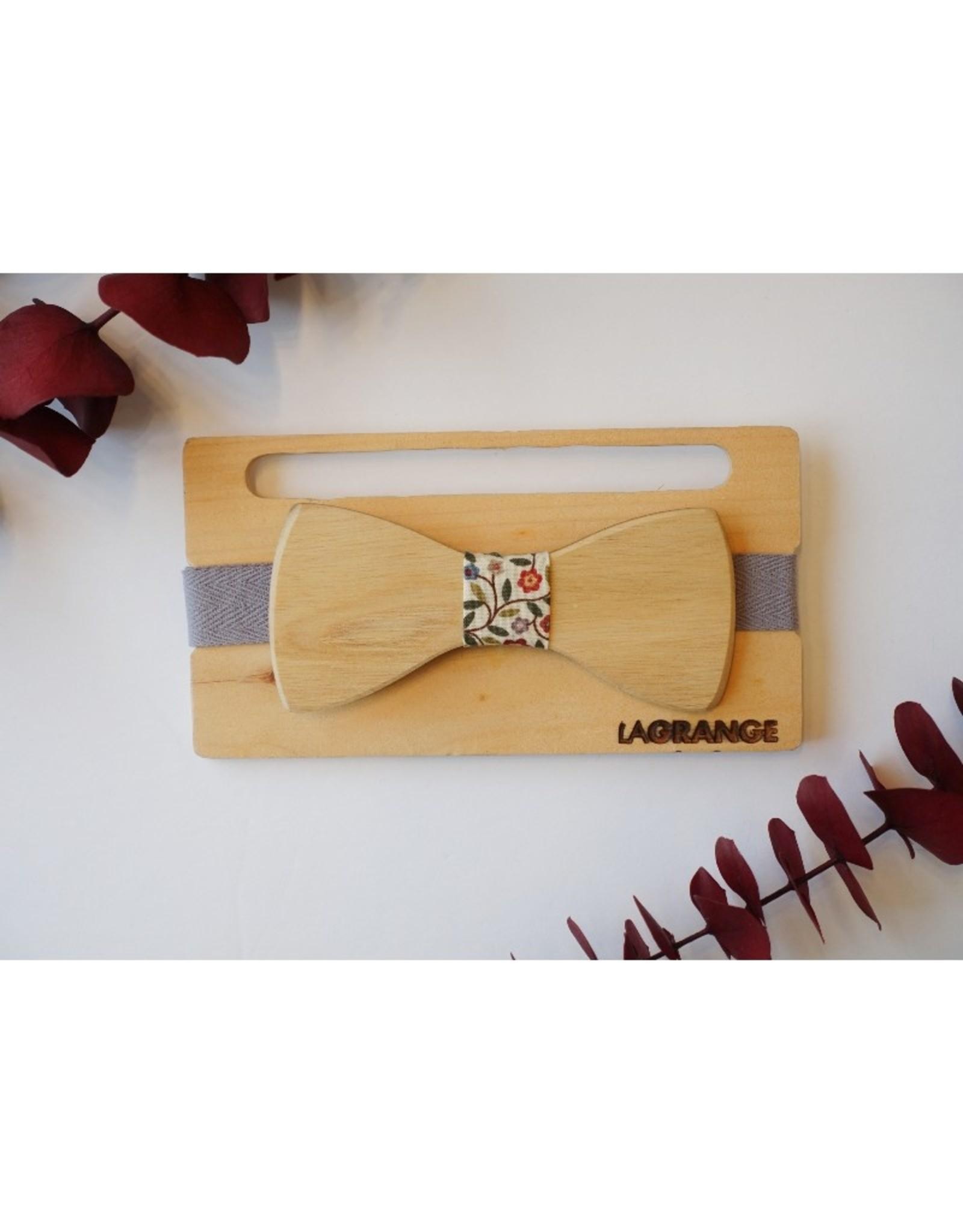 Atelier Lagrange Noeud papillon en bois Frêne Atelier La Grange