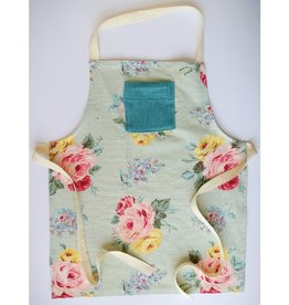 RightfulOwner Tablier enfant Rightful Owner Floral Blue 3-7A