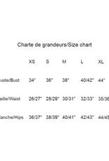 Les Coureurs de Jupons Col Roulé Crop Coude AH2021 Les Coureurs de Jupons Splendid Knit Moutarde
