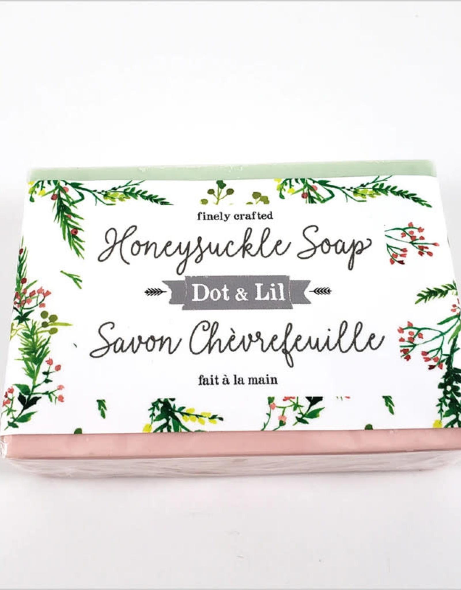 Dot and Lil Savon Dot & Lil Chèvrefeuille