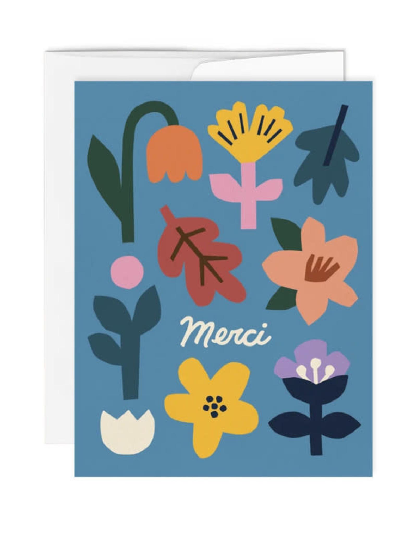 Paperole Carte de souhait Paperole Merci
