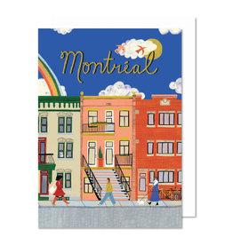 Paperole Carte de souhait Paperole Rue de Montréal