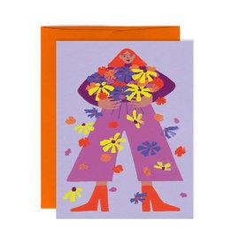 Paperole Carte de souhait Paperole Mille Fleurs