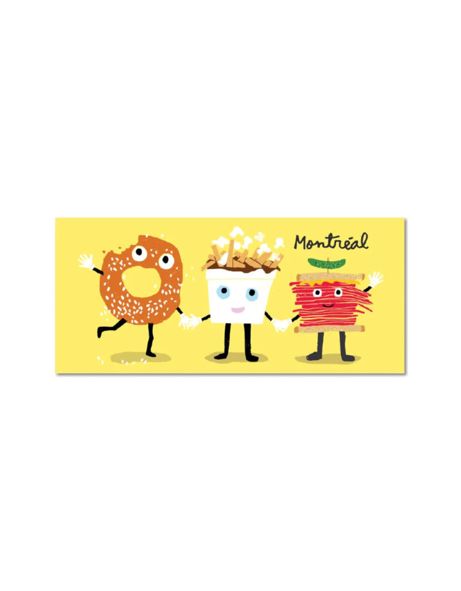 Paperole Carte postale Paperole Enfin Réunis