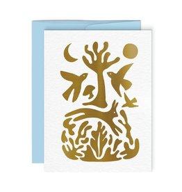 Paperole Carte de souhait Paperole Onirique
