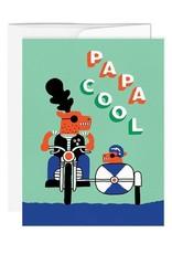 Paperole Carte de souhait Paperole Papa Cool