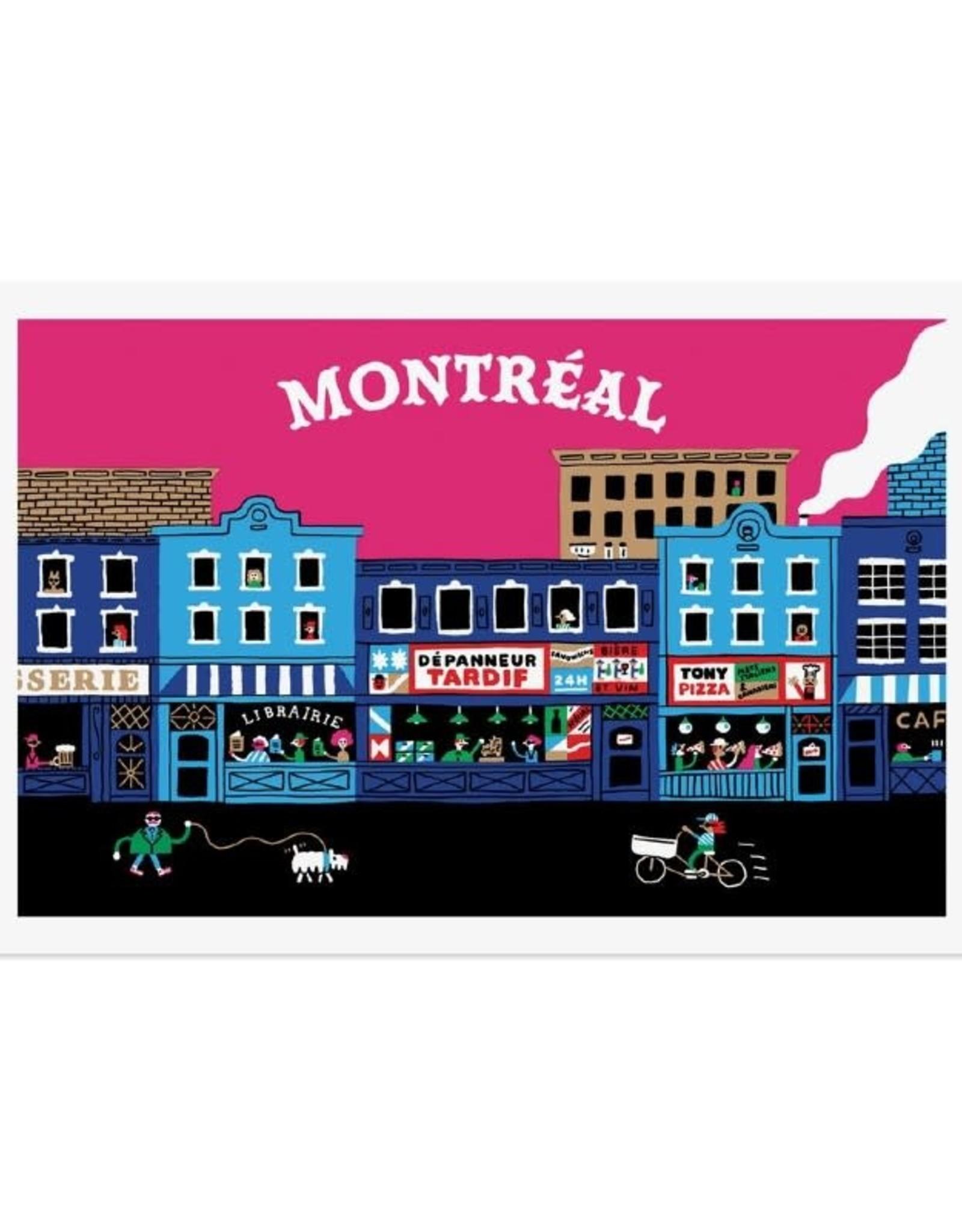 Paperole Carte postale Paperole Montréal Dépanneur
