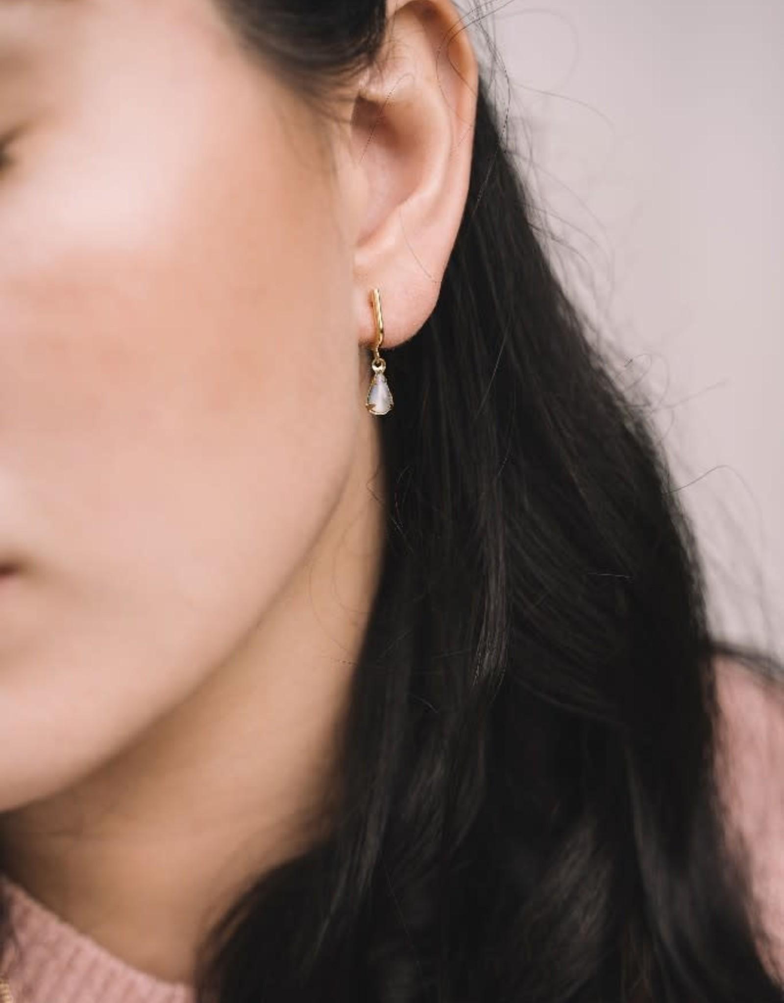 Sandrine Devost Boucles d'oreilles SD1572 Sandrine Devost Glass pearl