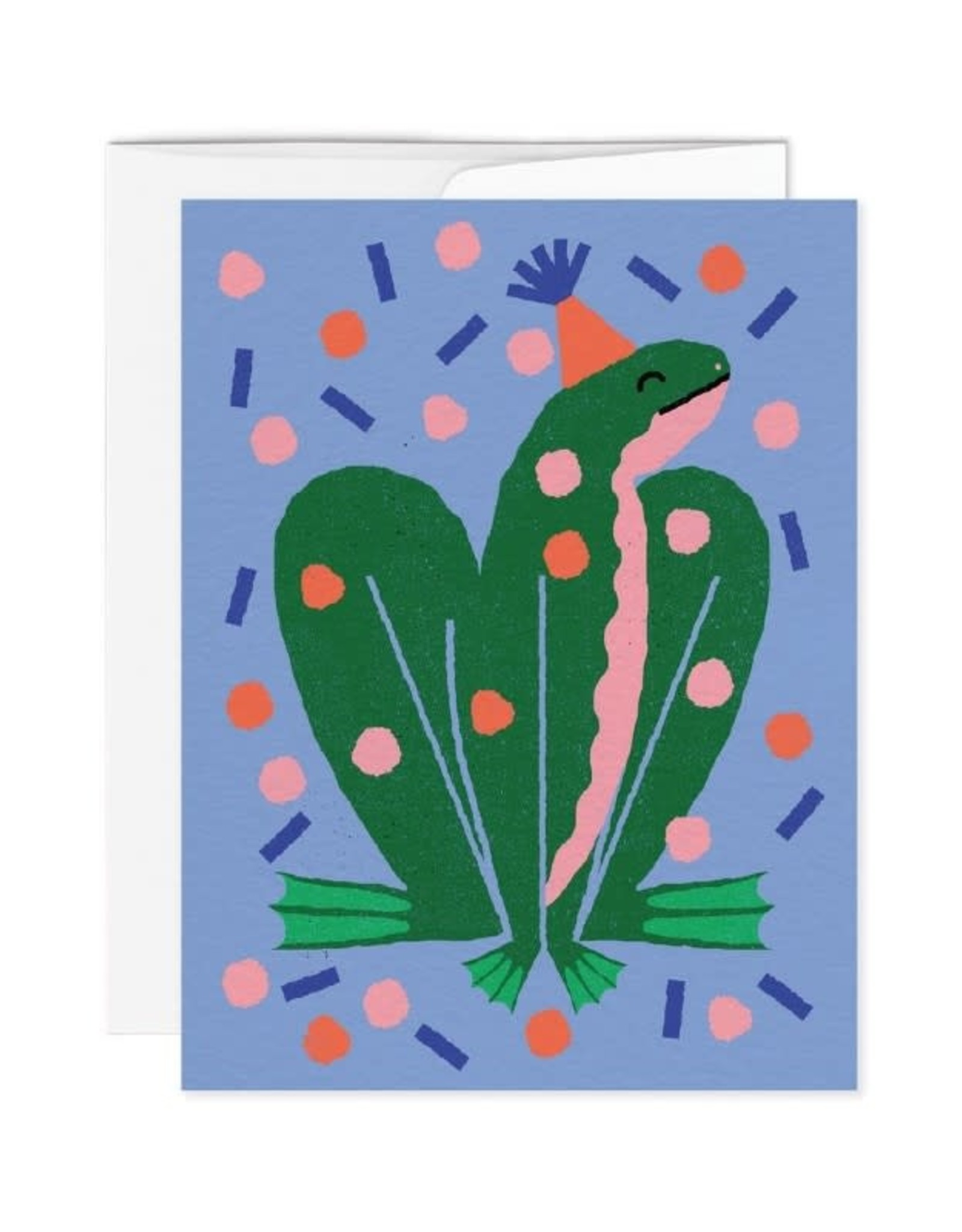 Paperole Carte de Souhait Paperole Grenouille
