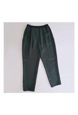 Josiane Perron Pantalon à plis taille élastique AH2021 Josiane Perron Vert