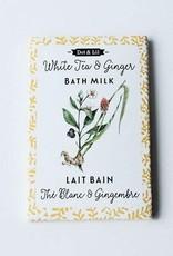 Dot and Lil Sachet lait de bain Dot & Lil Thé blanc et gingembre