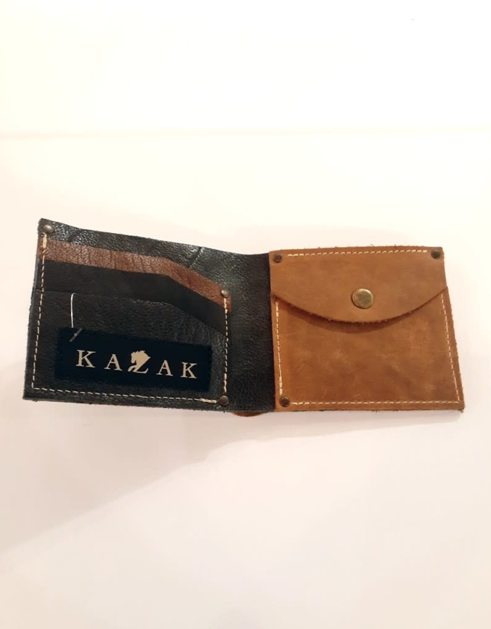 Kazak Porte-monnaie Léo Carillo AH1718 Kazak Tan/Noir