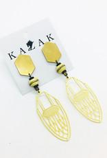 Kazak Boucles d'oreilles Ashland PE21 Kazak Beige