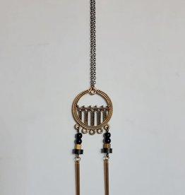 Kazak Collier Art Déco Kazak