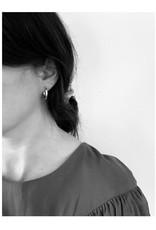 La Manufacture Boucles d'oreilles Louisette La Manufacture Argent