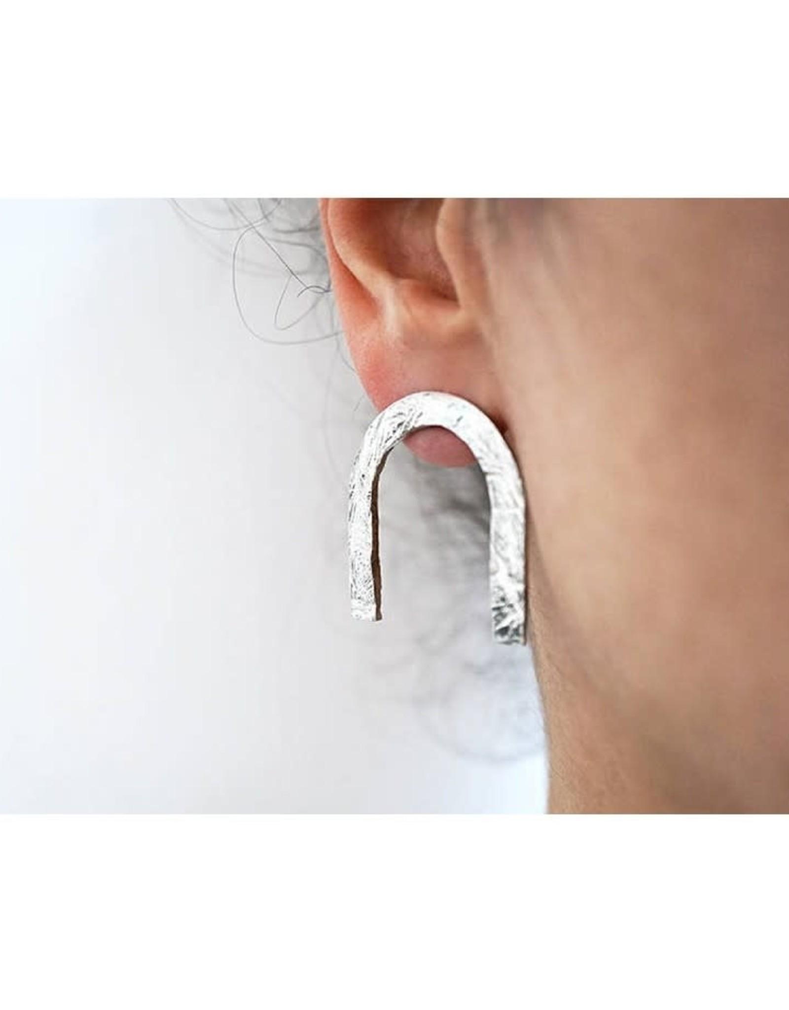 Marmod8 Boucles d'oreilles UU Marmod8 Argent