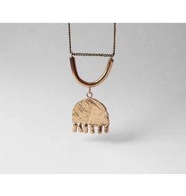 Marmod8 Collier Smile-Tulip Big Marmod8 Bronze- Chaine Vintage
