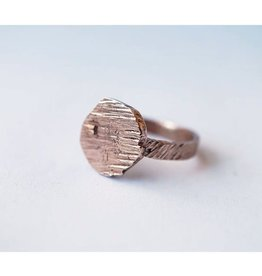 Marmod8 Bague Circle Texture Marmod8 Bronze T7