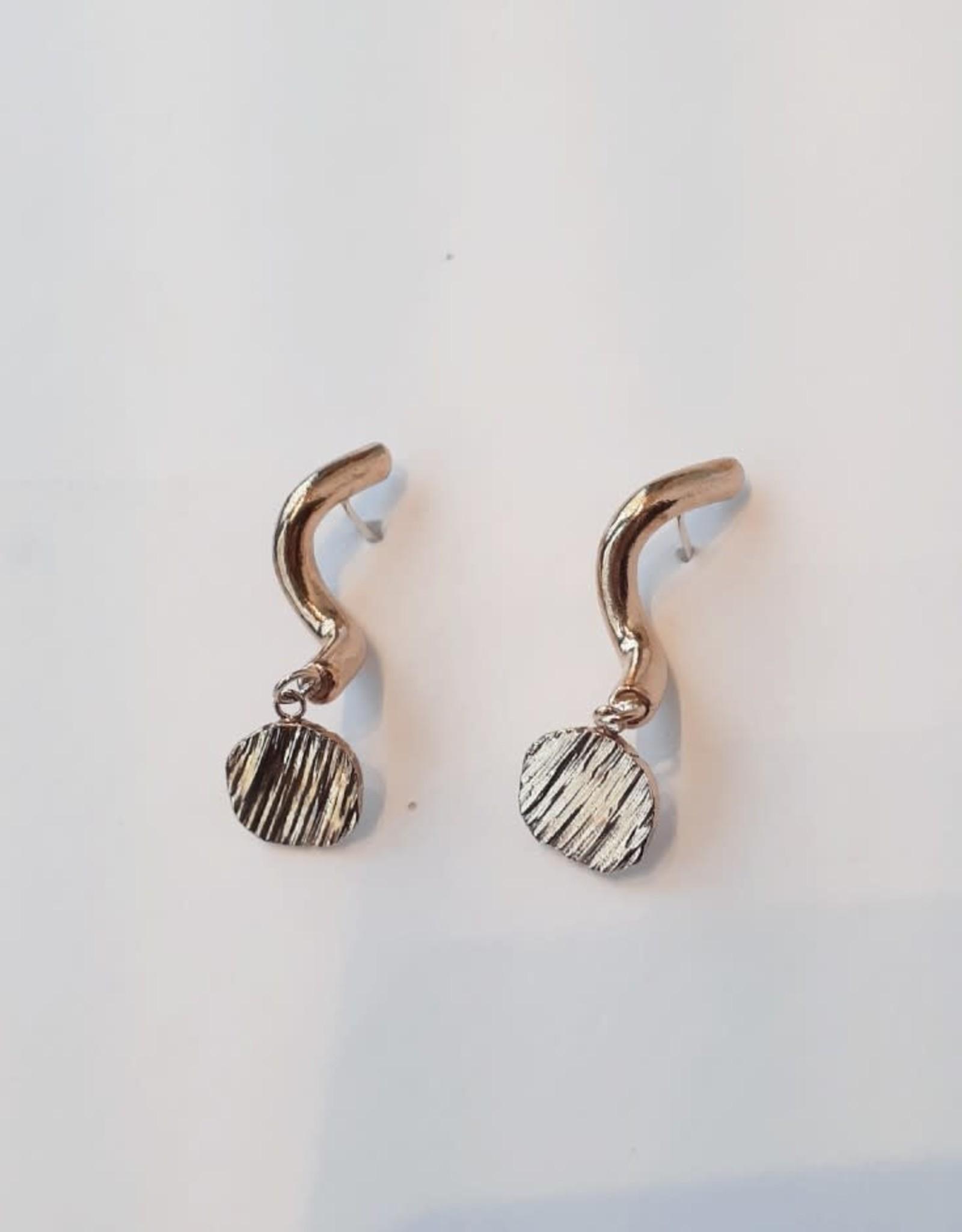 Marmod8 Boucles d'oreilles Exclamation Marmod8 Bronze