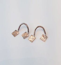 Marmod8 Boucles d'oreilles Balance Marmod8 Bronze