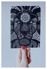 Mandalove by Florence Carte Mandalove Lion