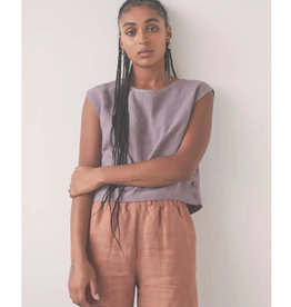 Eve Gravel Top Birds PE21 Eve Gravel Mauve