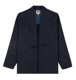 Naked and Famous Kimono Shirt PE21 Naked & Famous Japan Poplin Heritage Indigo
