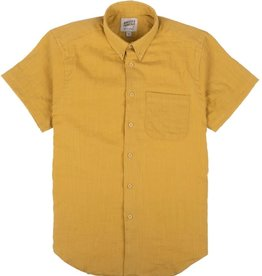 Naked and Famous Easy Shirt PE21 Naked & Famous Double Weave Gauze Tumeric