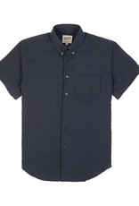 Naked and Famous Easy Shirt PE21 Naked & Famous Double Weave Gauze Navy