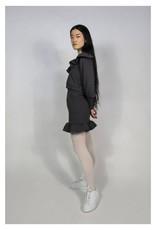 RightfulOwner Fleece Miniskirt PE21 Rightful Owner Charcoal