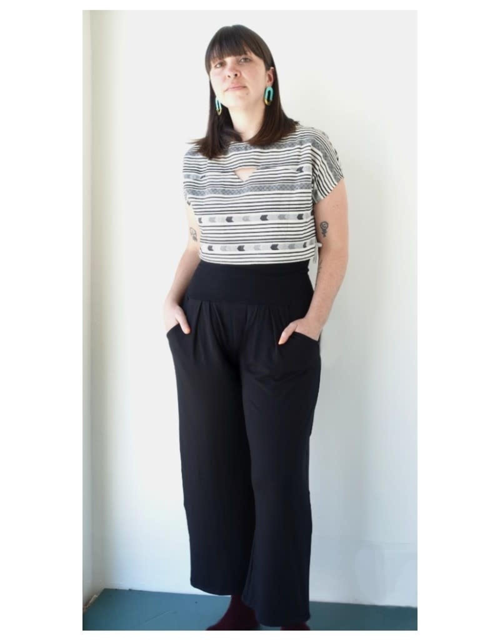 Meemoza Pantalon Crop Bo Meemoza PE21 Noir