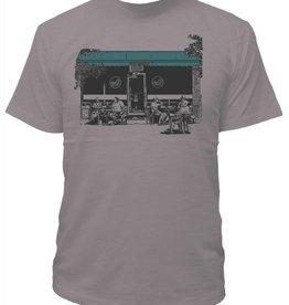 Tresnormale T-Shirt Homme Tresnormale Club Social Gris Chiné