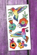 Pico Tatouage Pico Tatoo Les colibris colorés