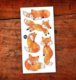 Pico Tatouage Pico Tatoo Les renards roux
