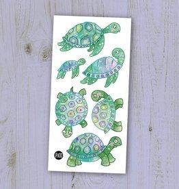 Pico Tatouage Pico Tatoo Les jolies tortues