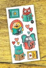 Pico Tatouage Pico Tatoo Amoureux de la lecture