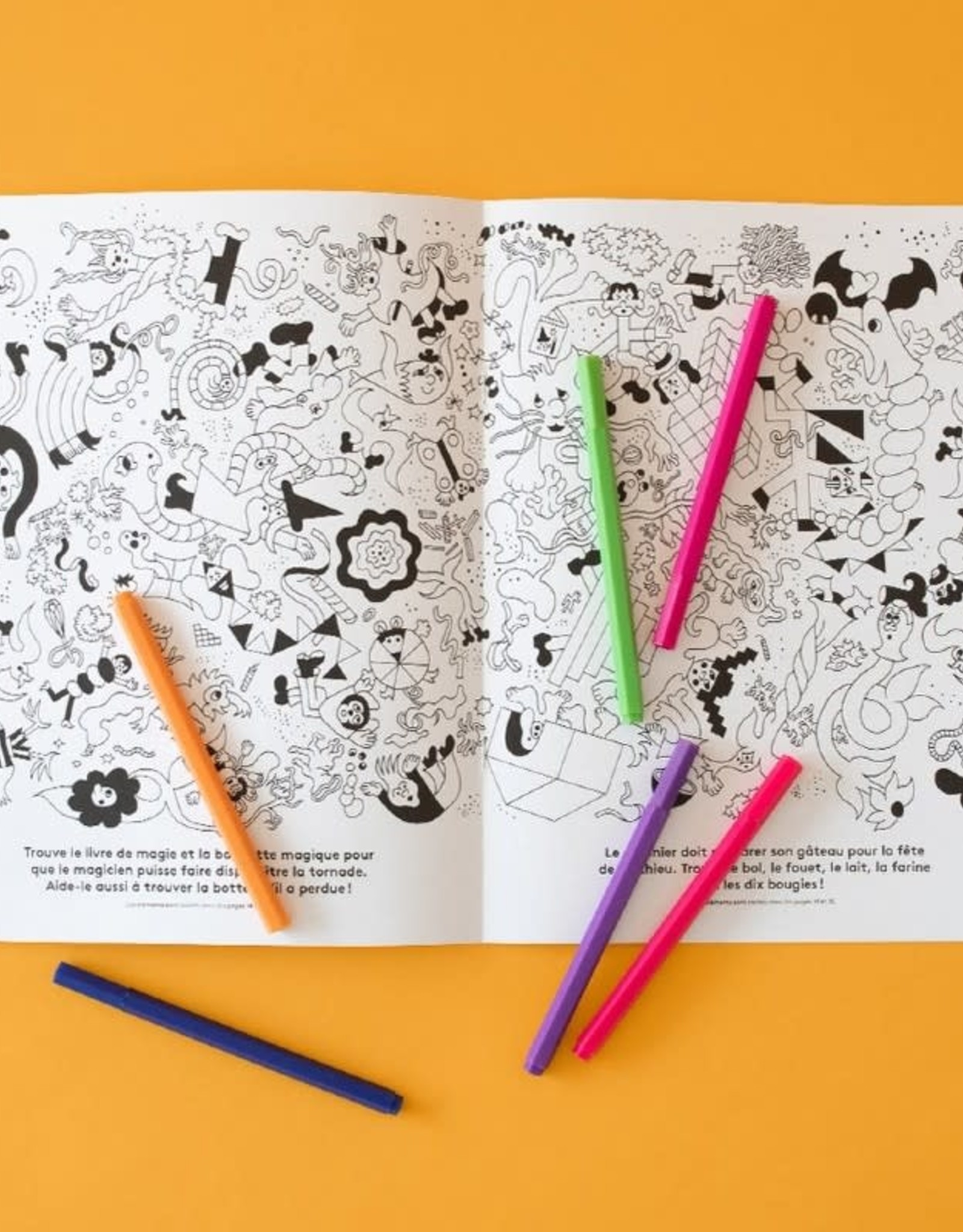 Paperole Cahier à colorier Paperole Aire de jeux