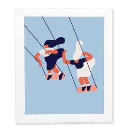 Paperole Affiche Paperole 8x10 Balançoires